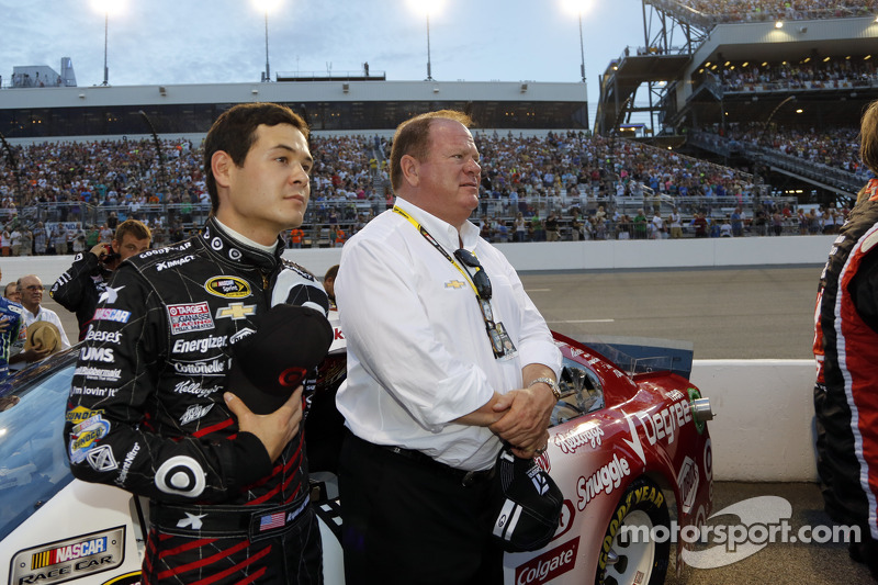 Kyle Larson and Chip Ganassi