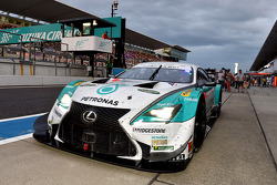 Winners #36 Lexus Team Petronas Tom's Lexus RC F: Kazuki Nakajima, James Rossiter