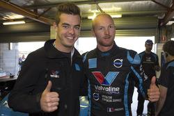Scott McLaughlin et Alexandre Prémat, Polestar Racing Volvo S60