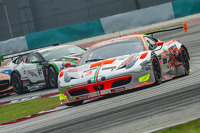 #3 Clearwater Racing 法拉利 458 Italia GT3: 泽圭太, 莫永新