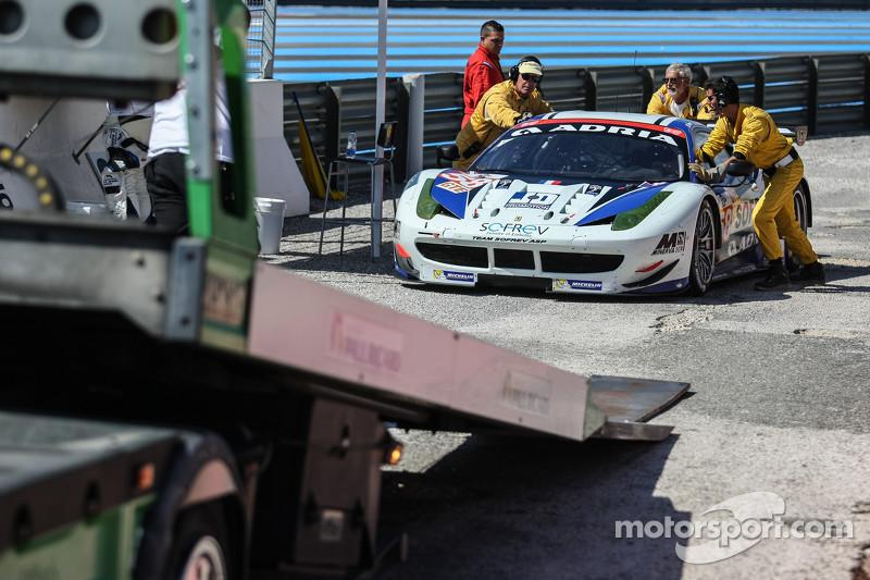 #58 Team Sofrev ASP 法拉利 F458 Italia: 法比恩·巴特兹, 安东尼·庞斯, 苏海·阿亚里