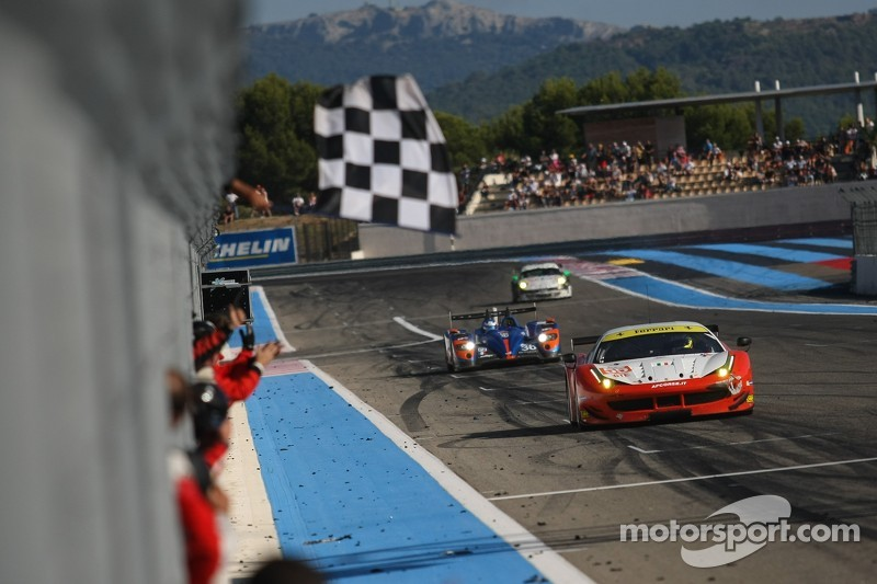 #55 AF Corse 法拉利 F458 Italia: 邓肯·卡梅伦, 马特·格里芬 , 米歇尔·鲁格罗 获胜