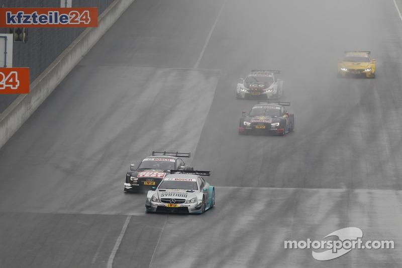 Daniel Juncadella, Mercedes AMG DTM-Team Mücke DTM Mercedes AMG C-Coupé, Timo Scheider, Audi Sport Team Phoenix Audi RS 5 DTM