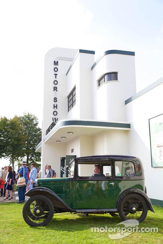 Goodwood Revival Motor Show Building