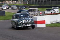 1959 Jaguar Mark I: Anthony Reid