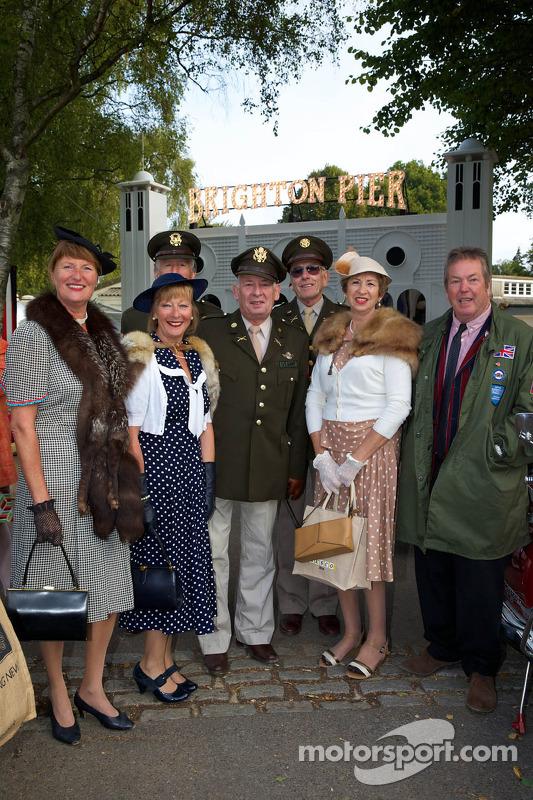 Goodwood Revival - Kostümler zorunlu