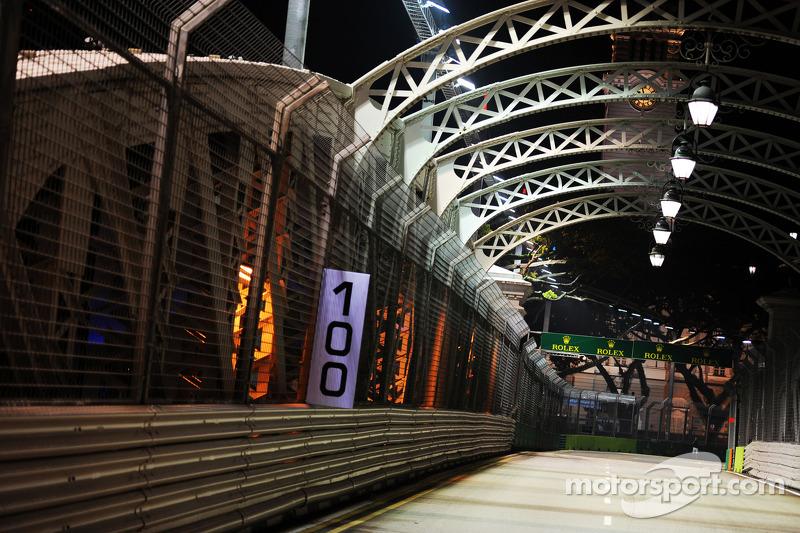Anderson Bridge in Singpaur
