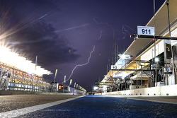 Onweer boven COTA