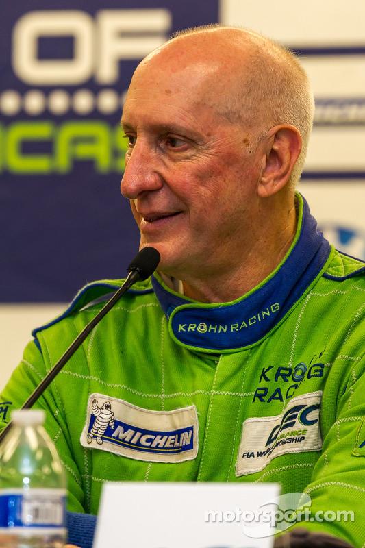 Anúncio da Krohn Racing LM P2