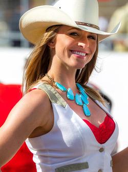 Cowgirls van het CIrcuit of the Americas