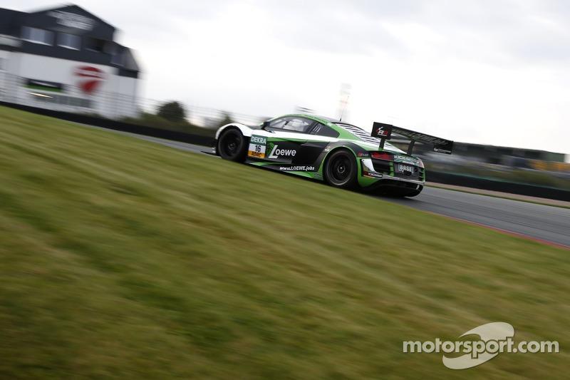 #16 YACO Racing Audi R8 LMS ultra: Philip Geipel, Markus Winkelhock