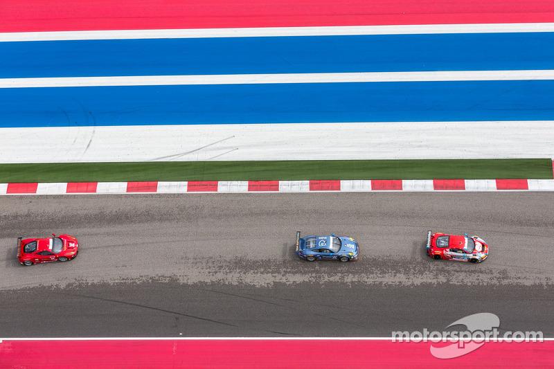 Vetture GT al Circuito delle Americhe