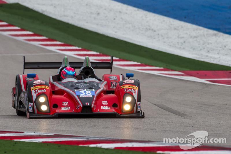 #38 Performance Tech Motorsports ORECA FLM09: David Ostella, James French