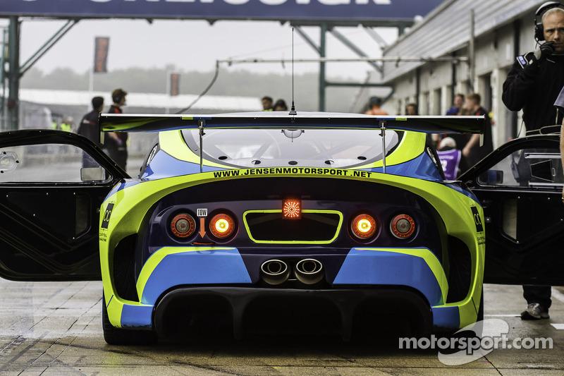 #29 Jensen Motorsport Ginetta G55 GT4: Jensen Lunn, Alistair Lindsay