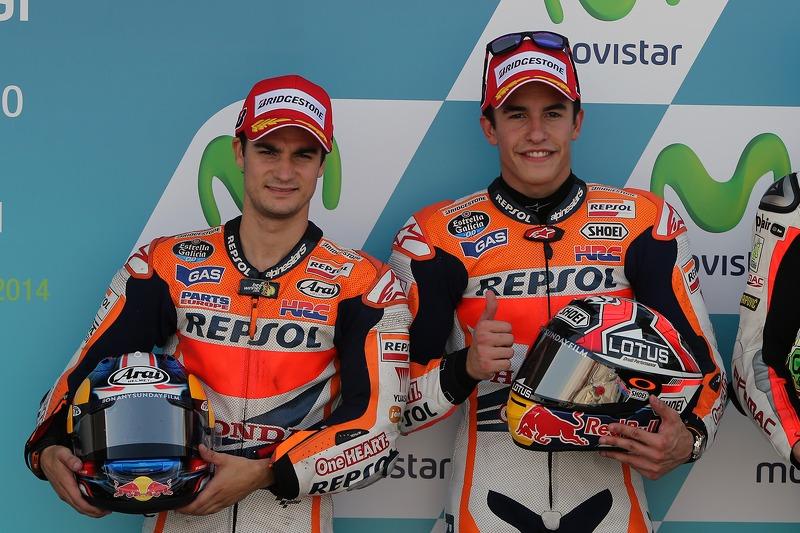 Dani Pedrosa ve Marc Marquez, Repsol Honda Takımı