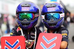 Genç Red Bull Racing taraftarları