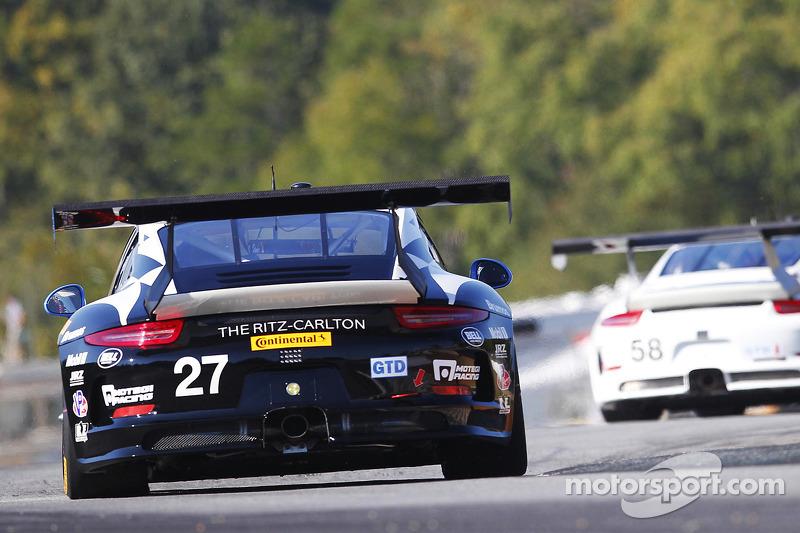 #27 Dempsey Racing Porsche 911 GT America: Patrick Dempsey, Andrew Davis, Joe Foster