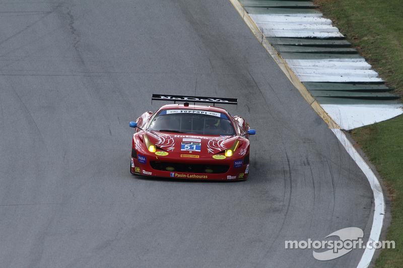 #51 Spirit of Race 法拉利 458 Italia: 帕辛·拉图拉斯, 马特·格里芬 , 米歇尔·鲁格罗