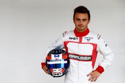 Will Stevens, Marussia F1 Team Piloto de reserva