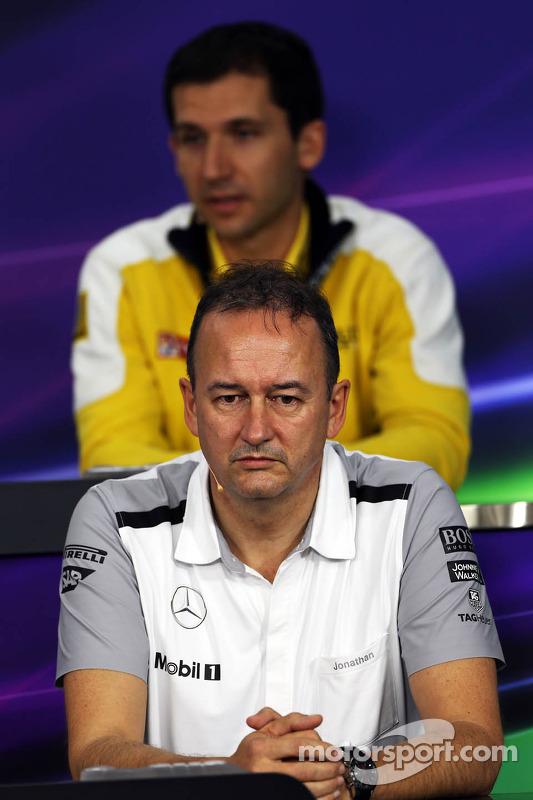 Jonathan Neale, McLaren