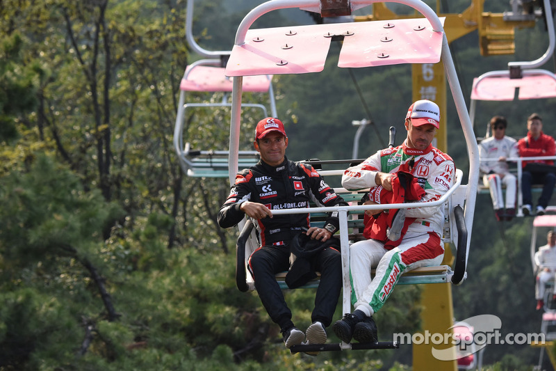 Gianni Morbidelli, Chevrolet Cruze RML TC1, ALL-INKL_COM Münnich Motorsport, Tiago Monteiro, Honda Civic WTCC, team Castrol Honda WTCC