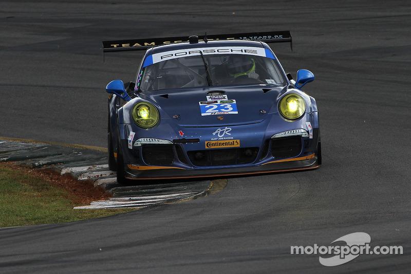 #23 Team Seattle/Alex Job Racing Porsche 911 GT America: Ian James, Mario Farnbacher, Alex Riberas