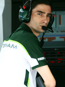 Angel Baena, Caterham F1 Team Ingegnere di pista