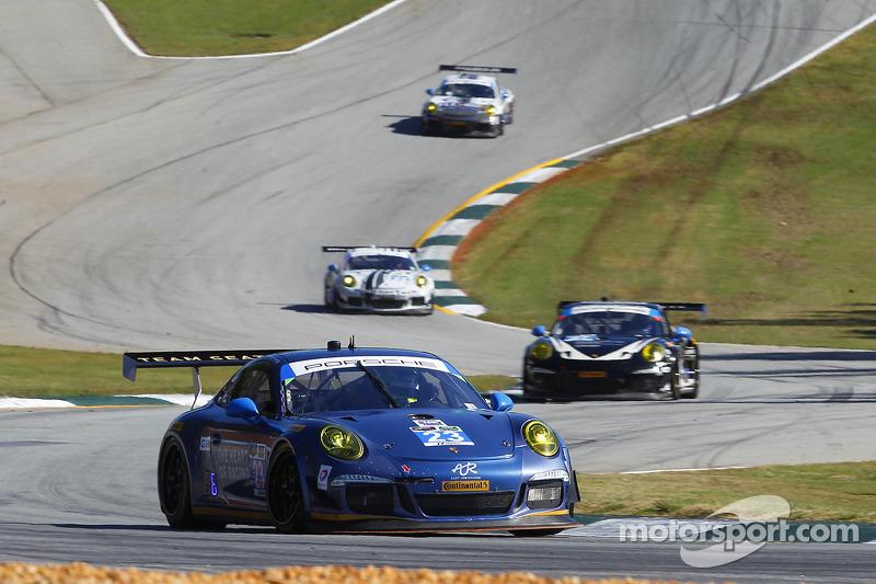 #23 Team Seattle/Alex Job Racing 保时捷 911 GT America: 伊恩·詹姆斯, 马里奥·法恩巴赫, 阿历克斯·里韦拉斯