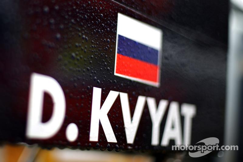 Gara bagnata, Daniil Kvyat, Scuderia Toro Rosso