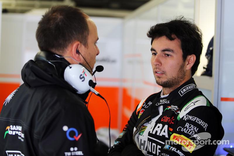Gianpiero Lambiase, Sahara Force India F1 ingeniero con Sergio Pérez, Sahara Force India F1