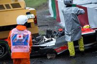 Crash: Jules Bianchi, Marussia F1 Team
