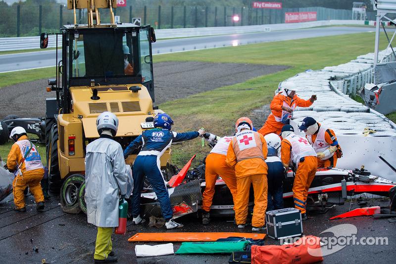 Japón 2014: accidente fatal de Jules Bianchi