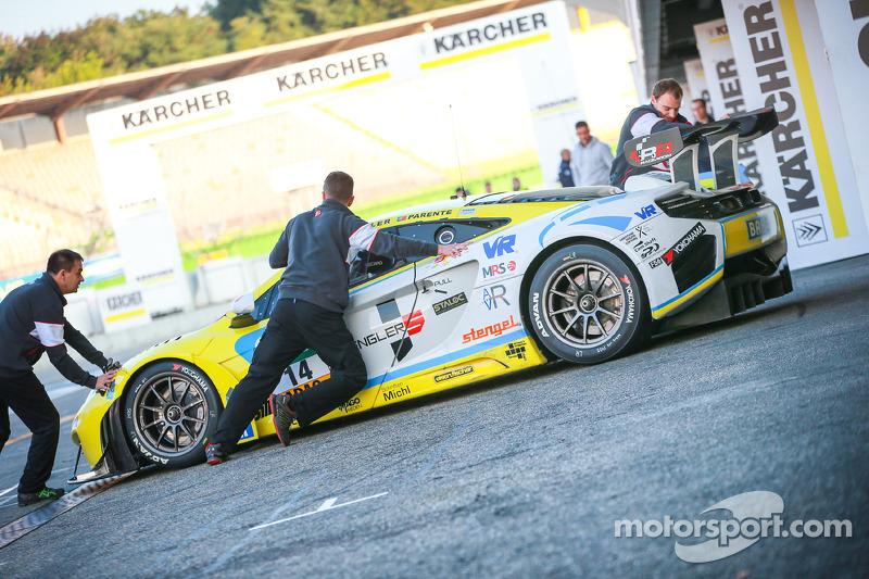 #14 MRS-GT-Racing McLaren MP4-12C GT3: Florian Spengler, Alvaro Parente