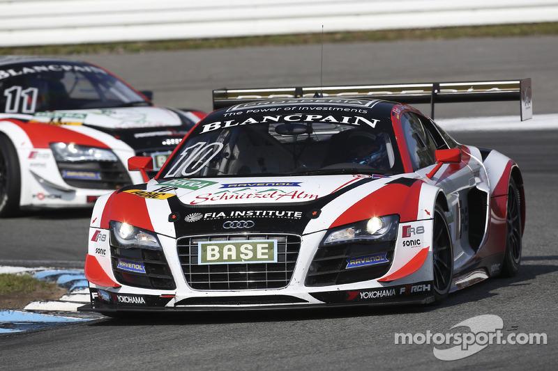 #10 Prosperia C. Abt Racing Audi R8 LMS ultra: Kelvin van der Linde, Rene Rast