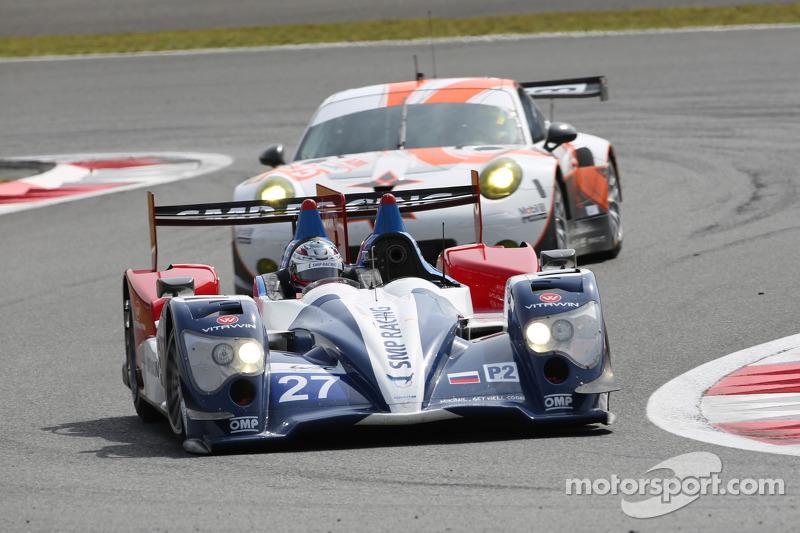 #27 SMP Racing Oreca 03 - 日产: 谢尔盖·兹洛宾, 尼古拉·米纳西安, 毛里奇奥·梅迪安尼