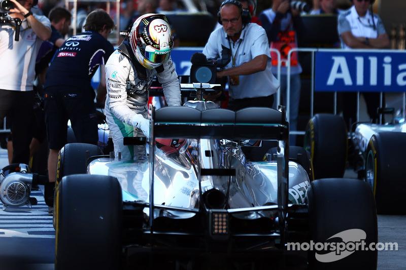 Hamilton logró la pole en el primer GP de Rusia en Sochi 2014