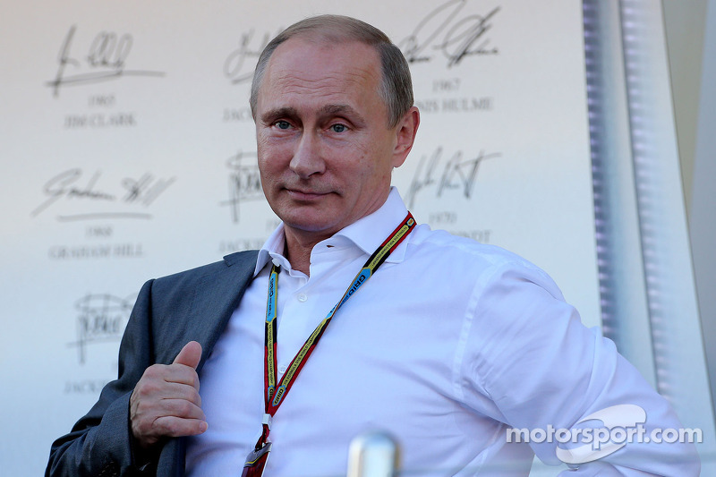 Vladimir Putin, Presidente russo