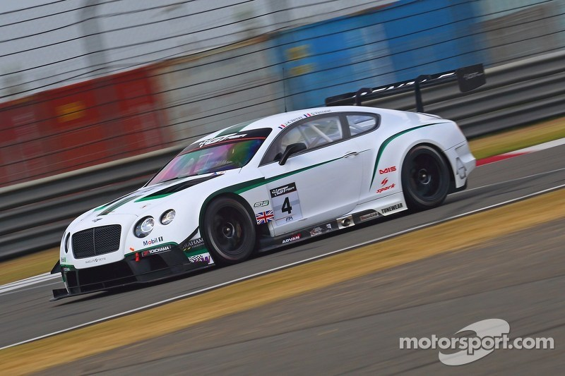 #4 Absolute Bentley Continental GT3: Jean-Karl Vernay, Gilles Vannelet