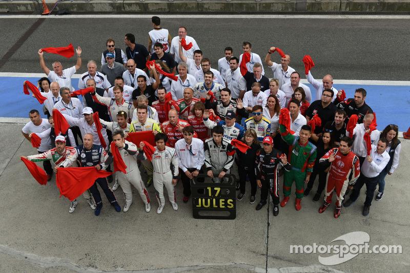WTCC apoia Marussia F1 Team Jules Bianchi
