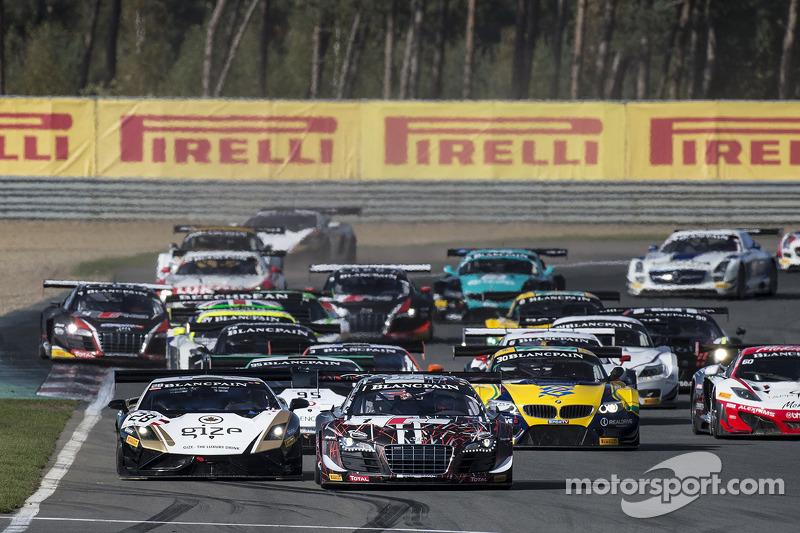 Via: #1 Belgian Audi Club Team WRT Audi R8 LMS Ultra: Cesar Ramos, Laurens Vanthoor al comando