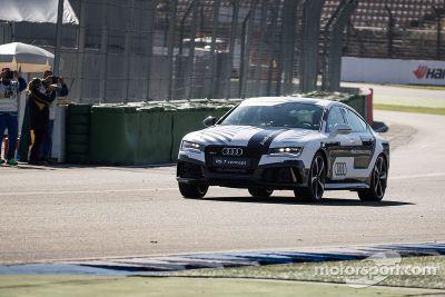 奥迪RS7自动驾驶测试