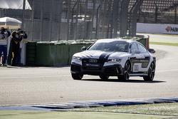 Audi RS7 piloto concepto de conducción