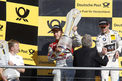 Campeonato Podio, Mattias Ekstrom segundo, Audi Sport Team Abt Sportsline, Audi A5 DTM