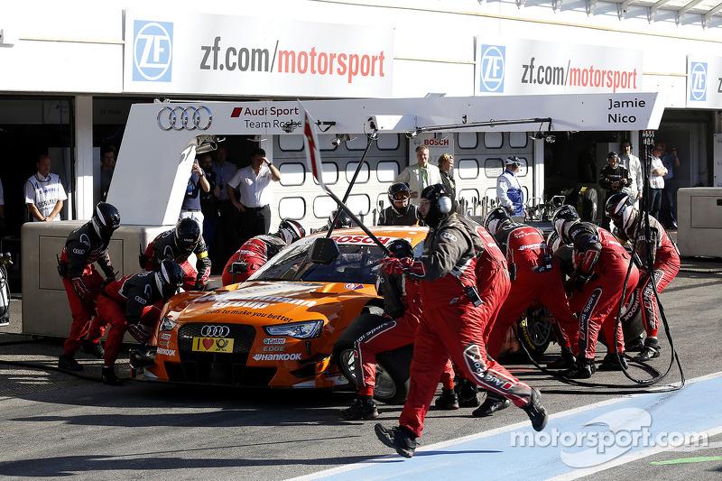 Parada en pits de, Jamie Green, Audi Sport Team Abt Sportsline Audi RS 5 DTM