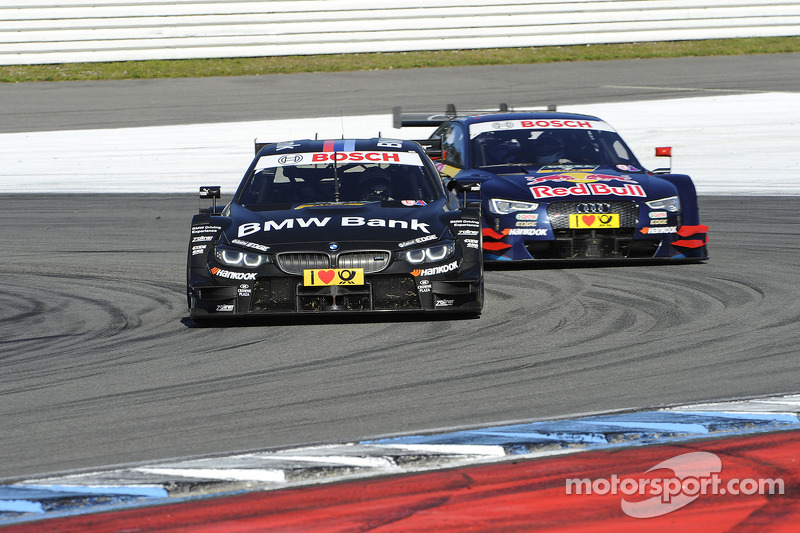 Bruno Spengler, BMW Team Schnitzer, BMW M4 DTM, Mattias Ekstrum, Audi Sport Team Abt Sportsline, Audi RS 5 DTM,