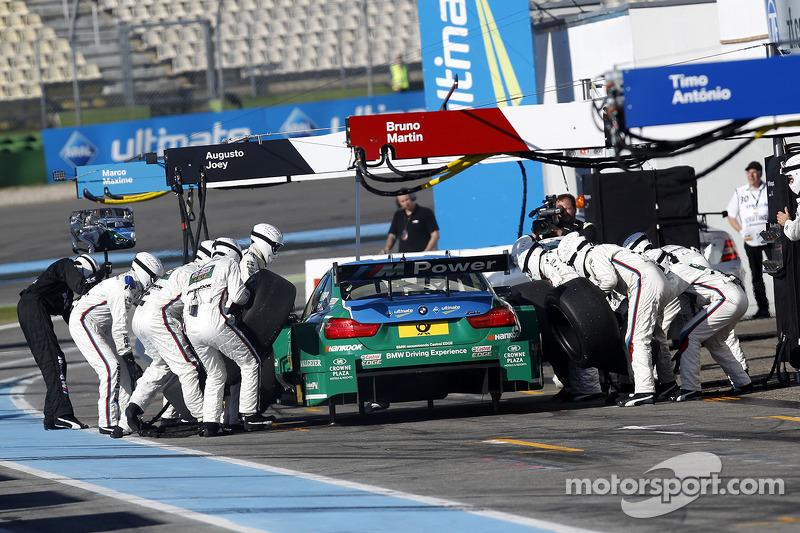 Parada en pits, Augusto Farfus, BMW Team RBM BMW M34 DTM