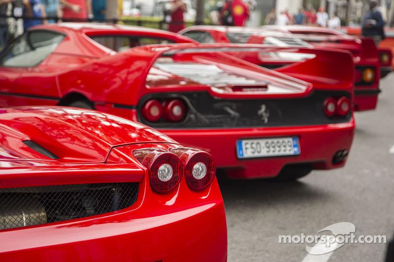 Ferrari Norteamérica celebración del 60 aniversario en Beverly Hills