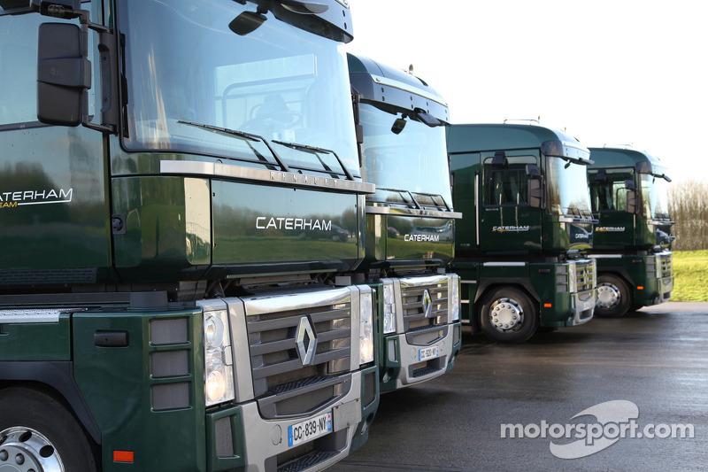 Kunjungan ke markas Caterham F1, Leafield (2013)