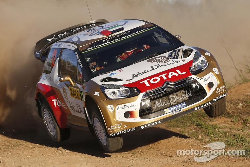 Khalid Al-Qassimi y Chris Patterson, Citroën DS3
