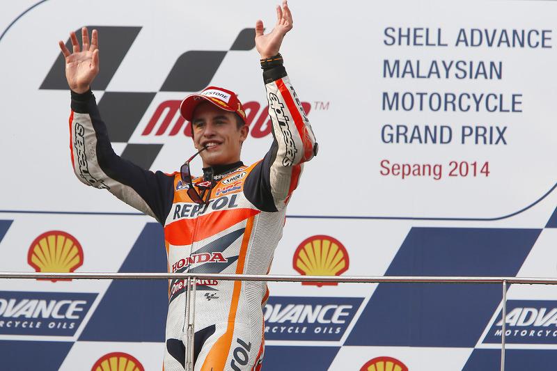 Ganador de la carrera de Marc Márquez